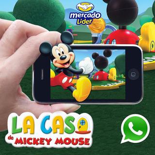 Invitación Digital Cumpleaños De Mickey Mouse En Video