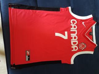 Camisa Basquete Seleção Canada,steve Nash,astro Nba,s/uso.