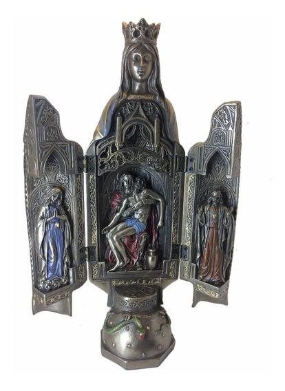 Imagem Nossa Senhora Das Graças Oratório Jesus Maria Pieta