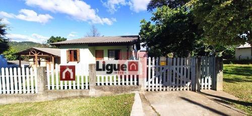 Imagem 1 de 19 de Casa Com 3 Dormitórios À Venda, 120 M² Por R$ 250.000,00 - Loteamento Jardim Esmeralda - Santa Cruz Do Sul/rs - Ca0290