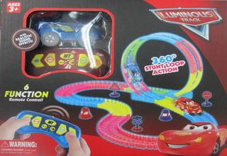 Pista De Carros Magic/luminous Track/juguete Niños