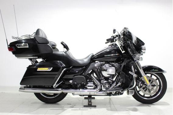 Harley Davidson Ultra Limited 2014 Preta