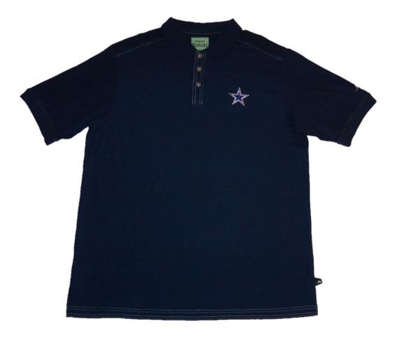 Tommy Bahama Playera M C Polo Cowboys L Nueva Sin Etiquetas