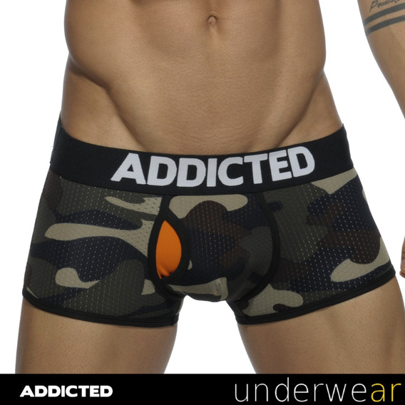 Boxer Camuflado Addicted Contrasted Mesh Ad497