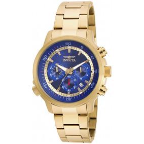 Relogio Invica Chronograph Blue Dial ¿novo | Lacrado
