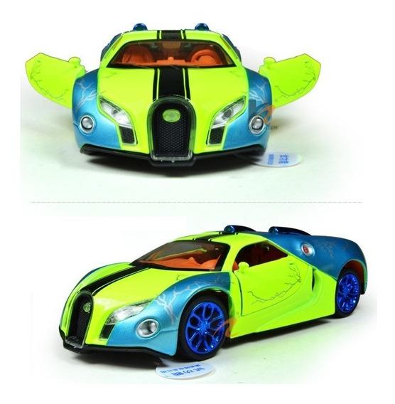 Imperdível Miniatura Bugatti Escala 1/32 Acende Farois, Som