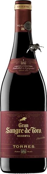 Vino Tinto Torres Gran Sangre De Toro Botella 750 Ml