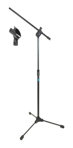 Pedestal P/ Microfone Girafa Retrátil + Cachimbo Tps Ask
