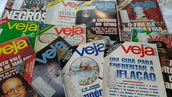 Revista Veja De 1988 Lote Com 11 Revistas Ano 20 Em Oferta
