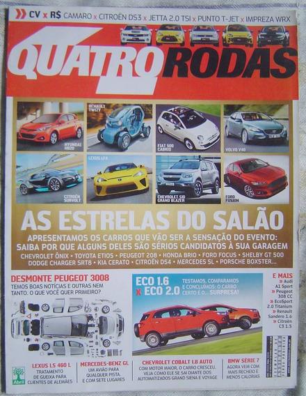 Revista 4 Rodas Especial - Edição 634 - As Estrelas Do Salão