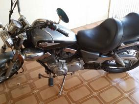 Yamaha Xv250s Virago 2001 + Jogo De Alforjes Em Couro