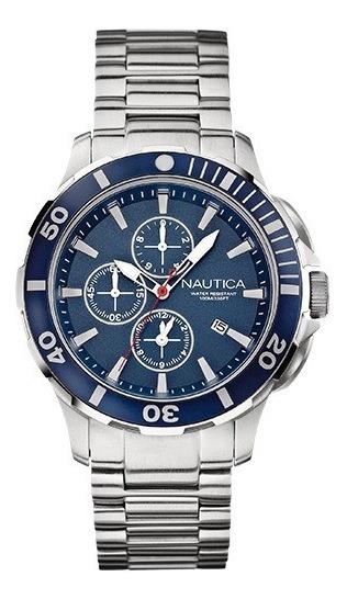 Relogio Masculino Nautica A20508g Cronografo