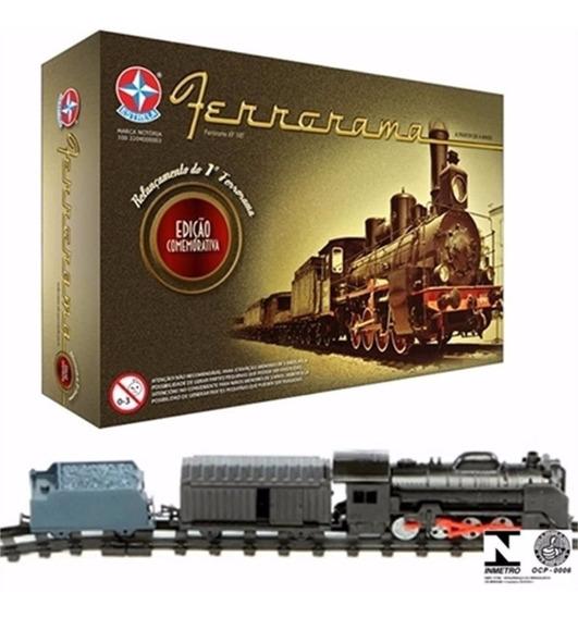 Ferrorama Xp 100 Locomotiva Trem Estrela