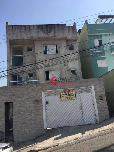 Imagem 1 de 24 de Cobertura Residencial À Venda, Vila Príncipe De Gales, Santo André. - Co0171