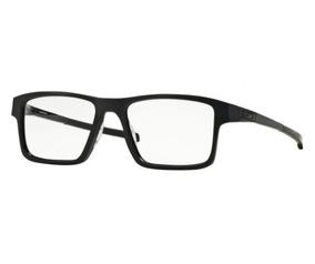 d03e86471 Armação Oculos Grau Oakley Chamfer 2 Ox8040l 0154 Preto
