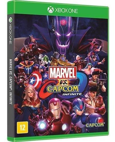 Xbox One Marvel Vs Capcom Infinite Mídia Física Novo Pt Br