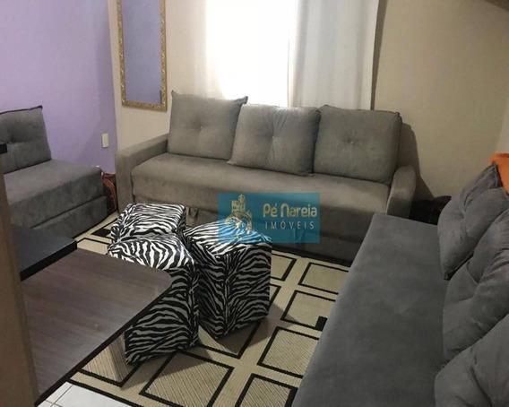 Kitnet Com 1 Dormitório/sala, À Venda, 25 M² Por R$ 110.000 - Forte - Praia Grande/sp - Rt0f576k - Kn0013