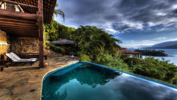 Casa Em Condomínio 3 Quartos Ilhabela - Sp - Piúva - Pv034