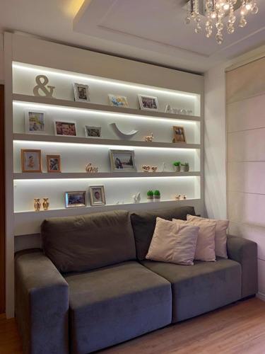 Imagem 1 de 14 de Fica Tudo! Apartamento Mobiliado Centro Gravataí 2 Quartos