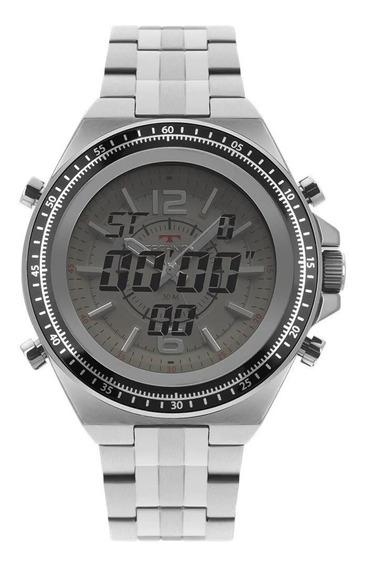 Relógio Technos Ts Digiana Masculino Prata 2035mos/1b