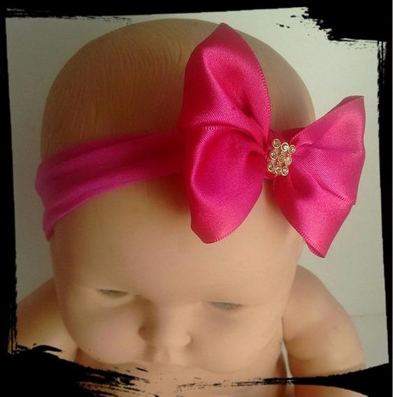 Faixa Para Bebe Kit 6 Lindos Laços Para Cabelo De Crianças