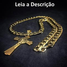 Corrente Grossa C/ Crucifixo