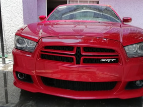 Dodge Charger 6.4 Srt-8 5 Vel Gamuza Piel Qc R20 At 2013