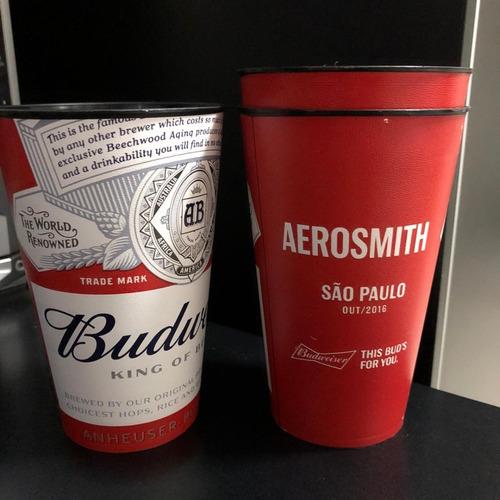 Copo Aerosmith Budweiser São Paulo Sp 2016