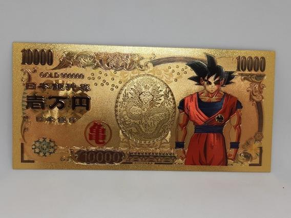 Cédula Dragon Ball Z Gold