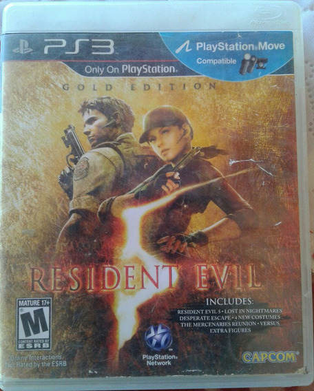 Resident Evil 5 Original Ps3 Semi Novo