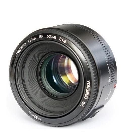 Lente Ef 50mm F1.8 Yongnuo Para Canon