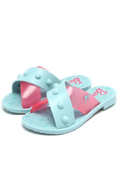 Rasteira Barbie Soft Azul/rosa 21824