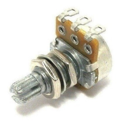 Potenciometro (eixo Longo/base Pequena) Guitarra/baixo A50k