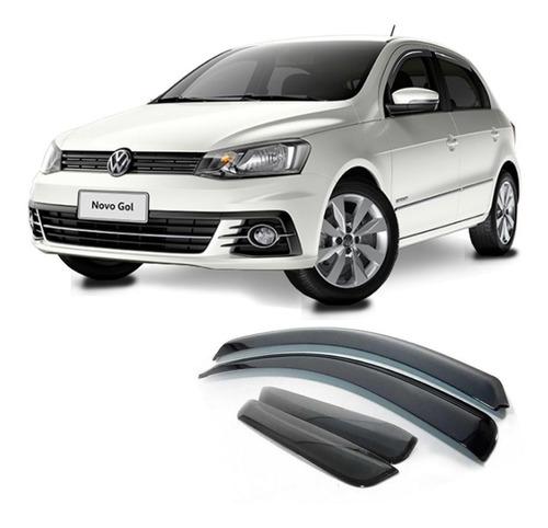 Calha Chuva Volkswagen Gol G7 2017 A 2020 Defletor 4 Portas