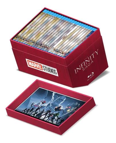 Imagen 1 de 3 de The Infinity Saga Marvel Studios Boxset 23 Films Bluray