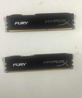 Memoria Ram Ddr3 4gb 1866mhz Hyperx Fury Black