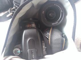 Camera Sony A550 Dslr + 50mm 1.7 + Flash + Sd 16gb