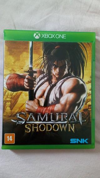 Samurai Shodown Xbox One Usado Mídia Física