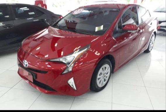Toyota Prius Hybrid 1.8 16v 5p Aut. - Vermelho - 2017