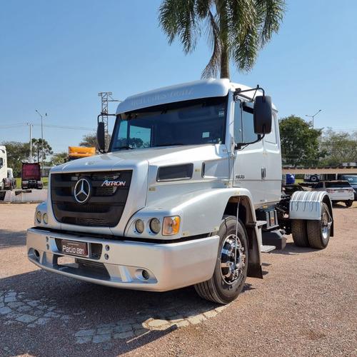 Imagem 1 de 15 de Caminhão Mb Atron 1635 Cavalo 4x2 Toco 2013