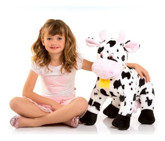 Vaca De Pelúcia 60cm Pronta Entrega/ Original/ Certificada
