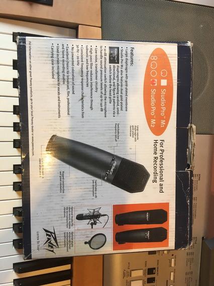 Vendo Microfone Para Estudio Peavey M2 Muito Novo!!!