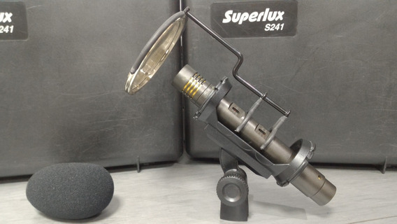 Superlux Microfone Condensador S241- Para Estudios