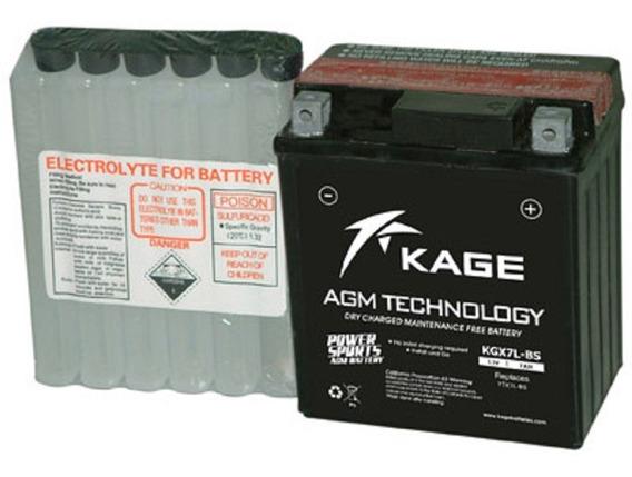 Bateria Para Moto Acido Ytx7l-bs Cargo150 Gl150 Tx200 Titan