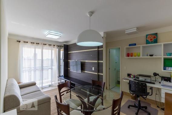 Apartamento No 16º Andar Mobiliado Com 1 Dormitório E 1 Garagem - Id: 892956958 - 256958