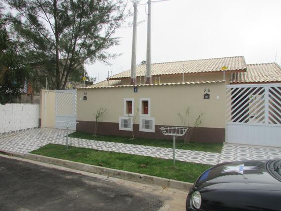 519-linda Casa Nova Á Venda Com 83 M² 2 Dormitórios 1 Suite