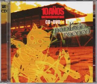 Panteon Rococo 10 Años Un Panteón Muy Vivo Cd+dvd