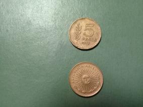 Moneda 5 Pesos Ley 18188