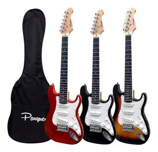 Guitarra Electrica Stratocaster Para Niño + Funda Cuotas