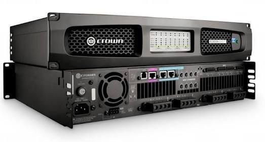 Amplificador De Potencia Crown 8600 300w 8 Canais Com Nfe